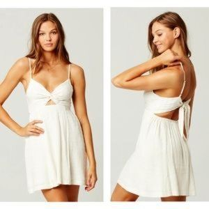 NWT L Space Sophia Cover Up Dress White Large
